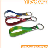 Atacado Custom Logo Silicon Key Chain