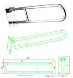 Carril de agarre de acero inoxidable para arriba para el tocador