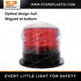 LEDの磁石が付いている回転点滅の太陽合図の光