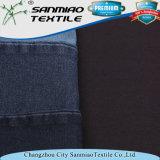 Spandex-Twillknit-Denim-Gewebe des Indigo-95% der Baumwolle5%