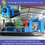 선 또는 낭비 타이어 고무 분말 기계를 재생하는 작은 조각 타이어 재생 공장 폐기물 타이어