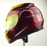 Безопасный шлем для мотовелосипеда с графиками