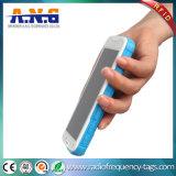 5 pouces d'écran de haute résolution d'IDENTIFICATION RF de lecteur portatif de fréquence ultra-haute