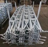 Гальванизированный гроссбух ферменной конструкции лесов Ringlock