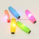 Do brinquedo adulto do jogador do diodo emissor de luz vara plástica Eco-Friendly de piscamento do rolamento do brinquedo da tabela