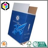 Caixa de empacotamento engarrafada forte do cartão para o vinho/cerveja/água