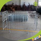 A exploração agrícola de porco do projeto moderno Using o MERGULHO quente galvanizou a tenda da gestação