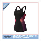 Kundenspezifischer Mädchen-Badebekleidungs-Polyester-Großhandelsbadeanzug mit Sublimation-Drucken