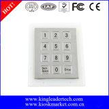 12 bündige Schlüssel Stailess numerischer Stahltastaturblock