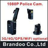 2.0インチスクリーン小型HD1080p 30fpsの赤外線夜間視界の警察のボディによって身に着けられているビデオ