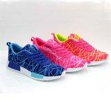 Breathable bunte neue Art-Frauen/Mens-laufende Schuhe