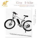 Alumium Rahmen-elektrisches Fahrrad mit 36V 350W Naben-Motor