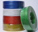 Cable flexible de Rvv del conductor de la envoltura de cobre del PVC