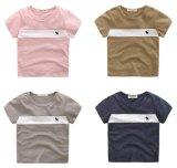 소매 티 여름 착용 4 색깔이 아이 옷에 의하여 누전한다