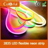高品質AC230V SMD2835 LEDのネオン屈曲ロープライト