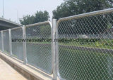 O PVC galvanizou a cerca soldada da ligação Chain de engranzamento de fio para o campo de jogos
