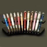 قوس شكل أكريليكيّ قلم عرض حامل قفص