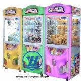 Máquina de juego de la venta del regalo de la garra de 2017 grúas (ZJ-CGA-4)
