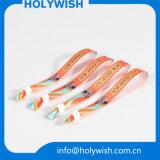 Wristbands di plastica della chiusura di Silider dell'alto tessuto di Quanlity da vendere