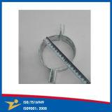 Métal fait sur commande de plaque de zinc de bride de pipe adaptant le dispositif serrant des fournisseurs de la Chine de bande