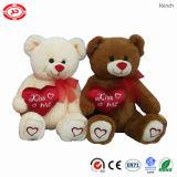 Teddybeer van de Pluche van het Stuk speelgoed van de Gift van de Valentijnskaarten van de liefde de Beste Zachte Gevulde