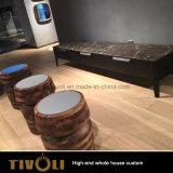 Soluzioni Tivo-019VW degli armadi personalizzate mobilia della Camera piena della camera da letto di legno solido