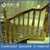 Barandilla de interior de las escaleras del acero inoxidable del diseño moderno de la Hight-Calidad
