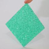 Kleurrijk Uitstekend Licht Polycarbonaat In reliëf gemaakt Blad