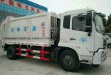 Carro de la compresa de Dongfeng 4*2 15m3 y de basura del transporte 15 toneladas de carro de los desperdicios