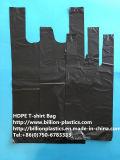 Прочный черный мешок Gusset Polybag хозяйственной сумки мешка несущей мешка тенниски мешка хлама мешка отброса вкладыша мусорного бака мешка хлама мешка погани мешка отброса