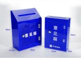 Rectángulo de sugerencia de acrílico de encargo hecho en China