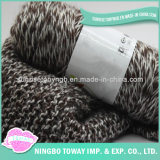 Lenço tecido longo do poliéster do Crochet do laço da caxemira da forma