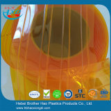 Eco-Friendyのオレンジ黄色の防音のビニールのストリップのカーテンのドアキット