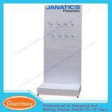 Шкаф полки оборудования индикации инструментов магазина розничной торговли с Perforated панелями металла