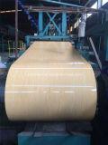 Il grano di legno PPGI ha preverniciato la bobina d'acciaio, lamiera di acciaio
