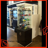 店のための木のカウンタートップの腕時計の陳列台