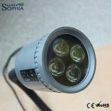 110V, 120V 의 자석 기초의 유무에 관계없이 100-240V 거위 목 모양의 관 램프
