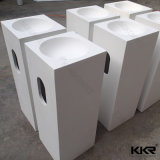 Kkr festes freistehendes Badezimmer-Wäsche-Oberflächenbassin 0713