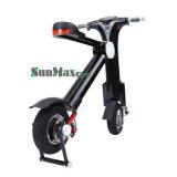 12 pulgadas barata plegables la bici eléctrica del neumático gordo con diseño de la manera