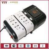 Tipo americano stabilizzatore di tensione automatico 110V 120V dello zoccolo di Yiyen con protezione dell'impulso