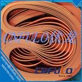 Coated приурочивая пояс, красный резиновый приурочивая пояс, T5*2280