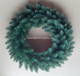 Украшенное кольцо венка рождества PVC