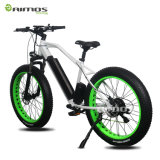 Bicicleta de montanha elétrica do pneu gordo quente do motor da manivela da venda 2017 para o exercício