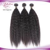 Weave человеческих волос прямых волос 100% волос девственницы пачки волос Kinky Unprocessed перуанские