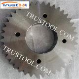 A máquina do processo de fluxo parte o sem-fim do CNC e a engrenagem de sem-fim fazendo à máquina