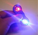 Игрушки обтекателя втулки EDC нового продукта обтекатель втулки руки проблескивать СИД игрушек непоседы алюминиевой светлой взрослый