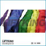 Cinghia di sollevamento del poliestere di alta qualità/imbracatura rotonda