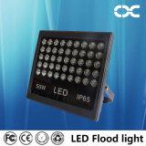 50Wは白い点ライト屋外の映写用電球の洪水照明を冷却する