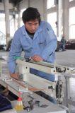Máquina de costura del colchón del zigzag de la escritura de la etiqueta para el brazo largo