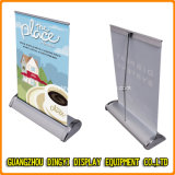 Double Size Mini Table Roll up Banner